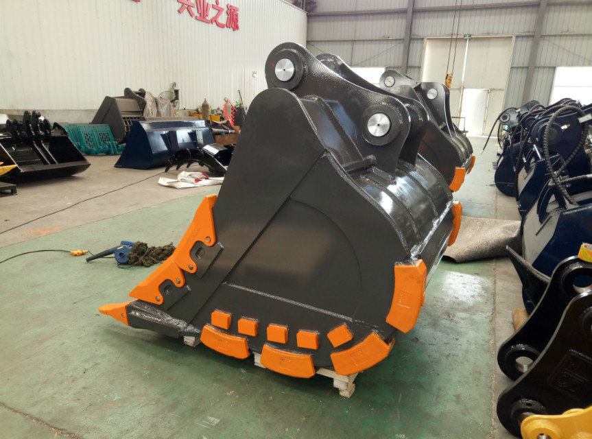 Excavator Attachments of The 30t Excavator Rock Bucket