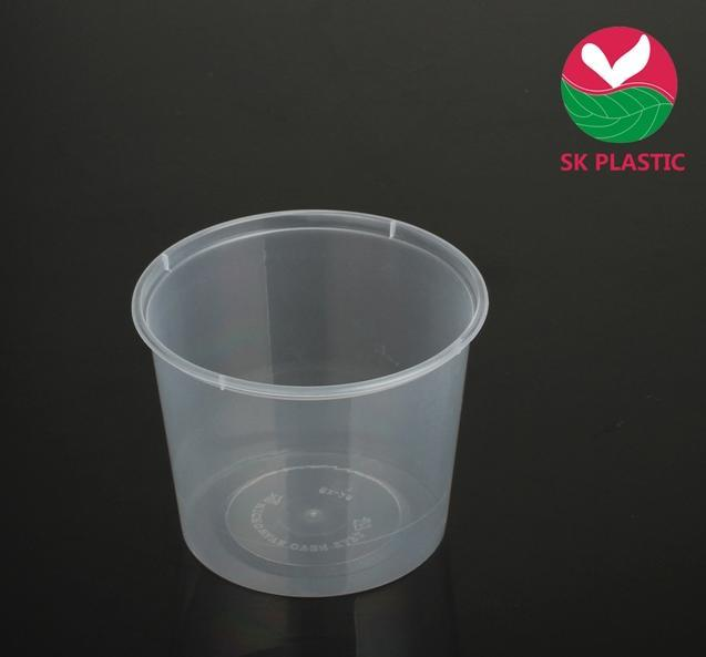 Disposable Round PP Food Container (SK-25)