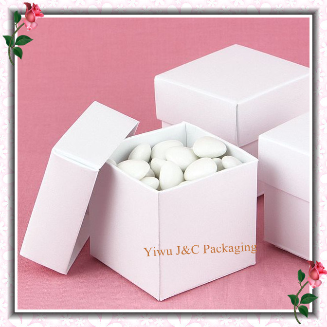 Wedding Favor Boxes White : China popular pc white wedding favor candy boxes jco