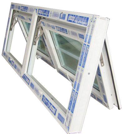 PVC Awning Window with Frame