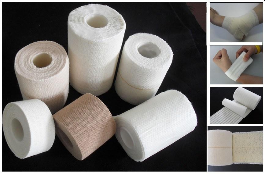 Heavy Weight Drill Cotton Elastic Adhesive Bandage (Eab)