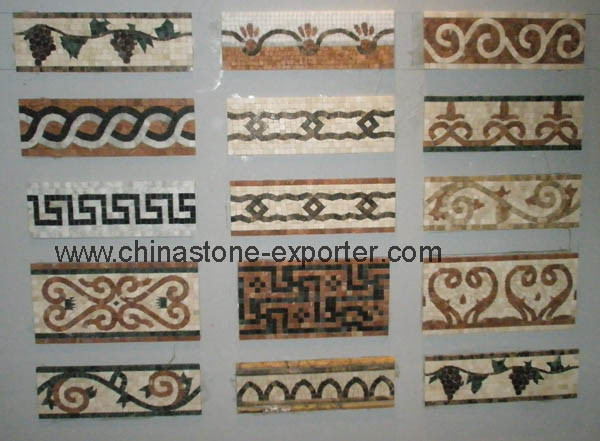 China Mosaic Border Krm 0040 China Mosaic Tiles Glass