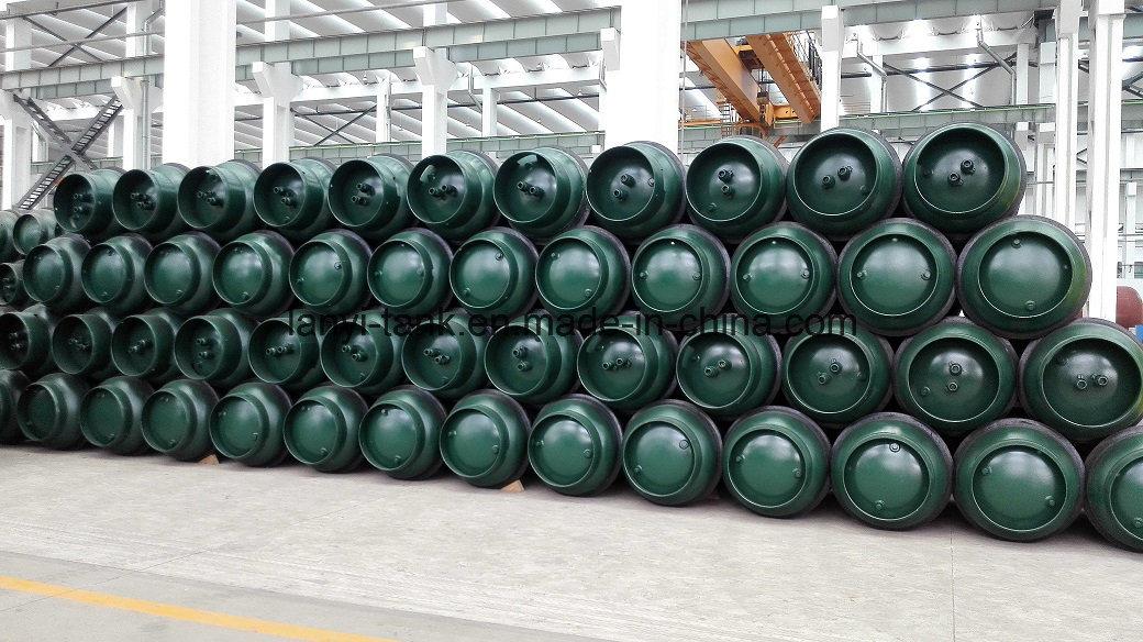 GB5100 and En14208 Standard 400L, 840L, 1000L Steel Welding Gas Cylinder for R-12