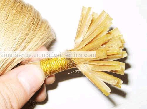 100  human hair nail tip remy