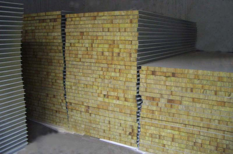 Mineral Wool Sandwich Panel : Mineral wool sandwich panel china