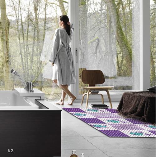 Non-Slip Bath Floor Mat, Hot Sell Door PVC Floor Mat