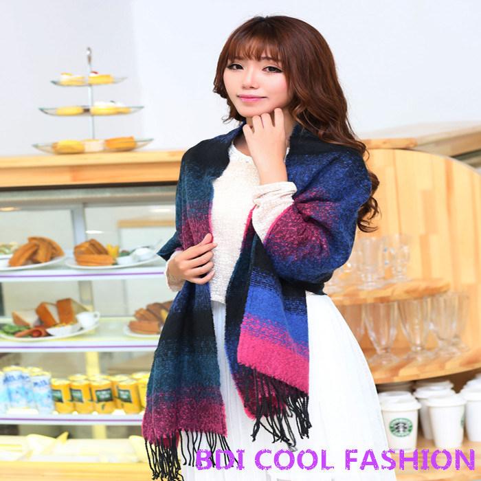 New Design Hot Selling Fashion Scarf (Cyx-103)
