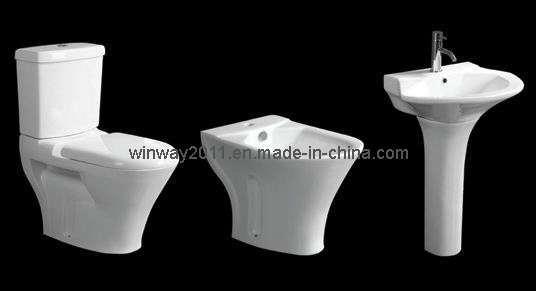 toilet bidet basin set wr 78066 china toilet wc. Black Bedroom Furniture Sets. Home Design Ideas