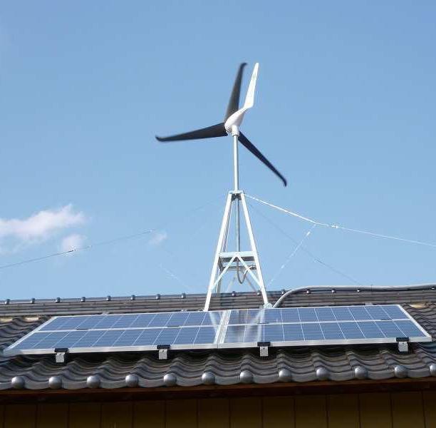 ... Roof Mounted Wind Turbines 600W - China Wind Power, Wind Generator