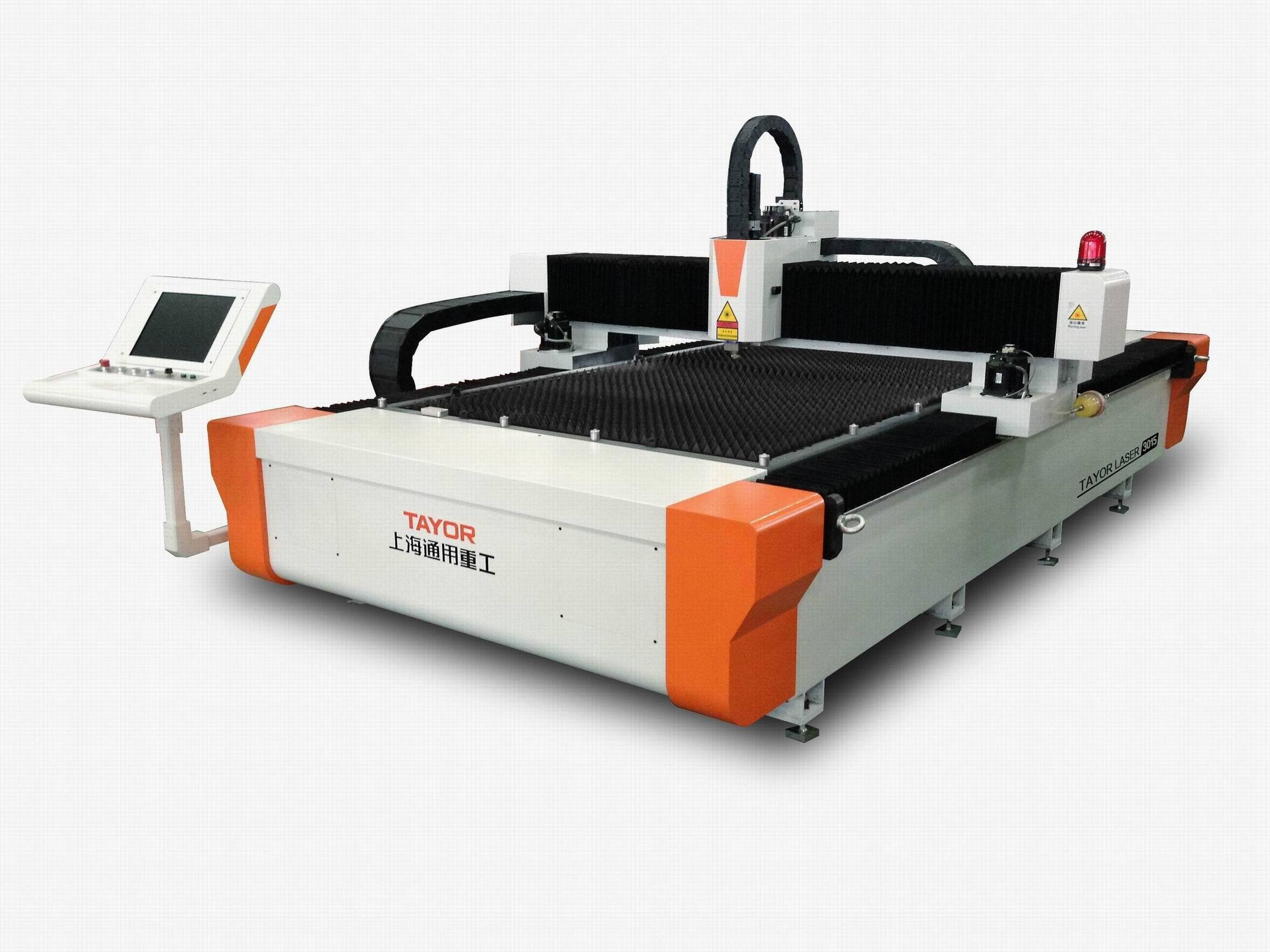 500W, 1000W, 2000W, 4000W Ipg CNC Fiber Laser Cutting Machine