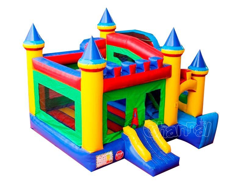3 in 1 Combo Inflatable Bounce House Chb202