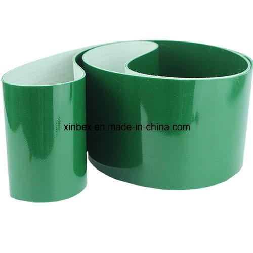 PVC Green Shiny Flat Conveyor Belt