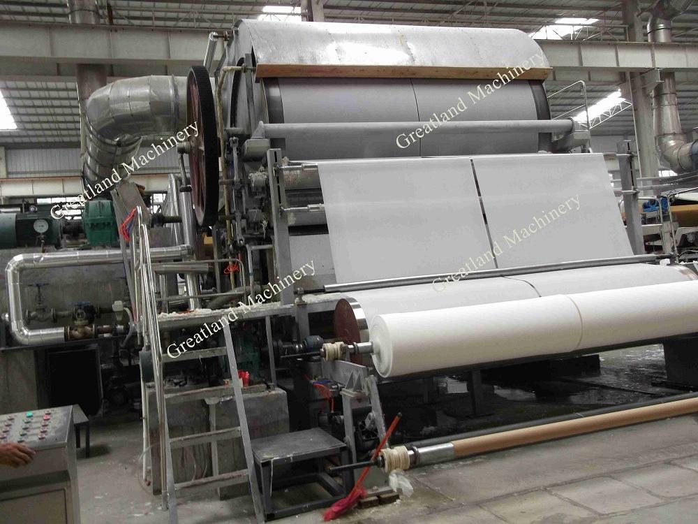 Single Cyliner Tissue Machine Toilet Paper Machine