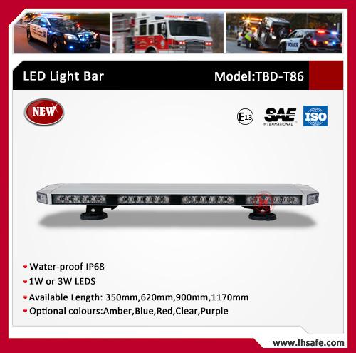 Ultrathin LED Warning Light Bar (TBD-T86)