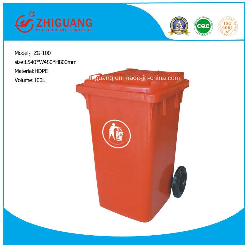 Wheeled Waste Plastic Bin