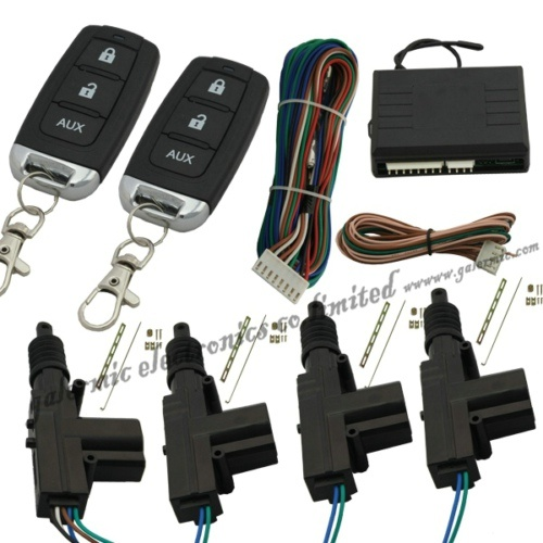 Car Central Door Locking System by Two Remote