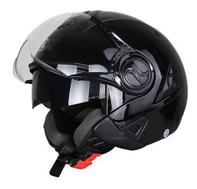 Hot Sale Double Visor Motorcycle Open Face Helmets ECE/DOT Approvel