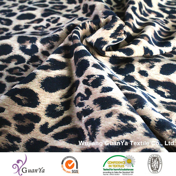 Leopard Print Fabric for Dress