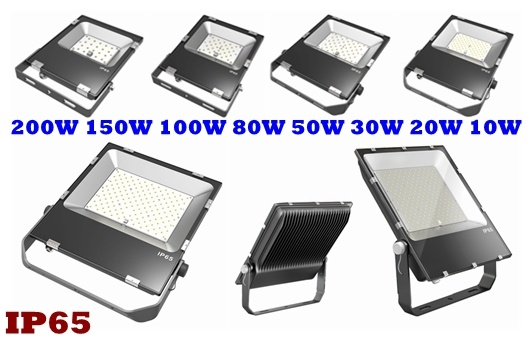 5 Years Warranty IP65 Waterproof 200W High Power SMD Dimmable LED Spotlight