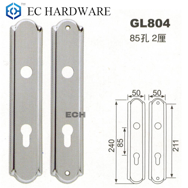Pss+SSS Stainless Steel Door Lock for Front Door (GL804)