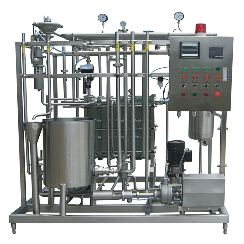 Semi Automatic 1000L/H Fresh Milk Pasteurizer