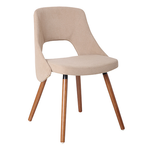 Modern Wooden and Fabric Dining Leisure Bar Chair (FS-WB82A3607)