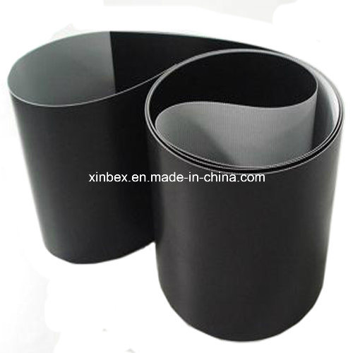 Black PVC Thickness 2.0/3.0mm Checkout Counter Conveyor Belt for Supermarket
