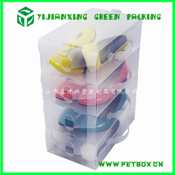 Plastic PP Packing Box for Baby Shoes