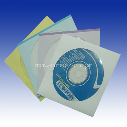 CD/VCD/DVD/Disc Replication with PP Sleeves Packaging