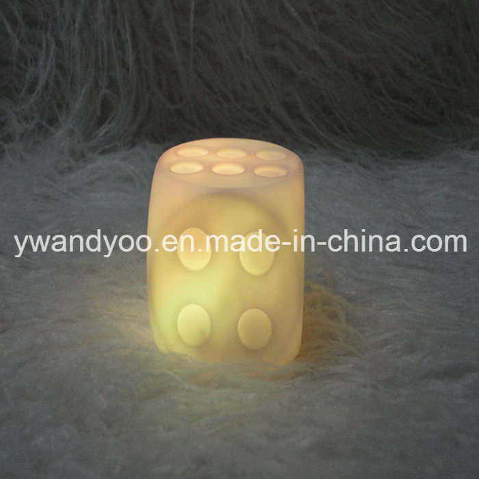 Hot Sale Flameless Green LED Candle