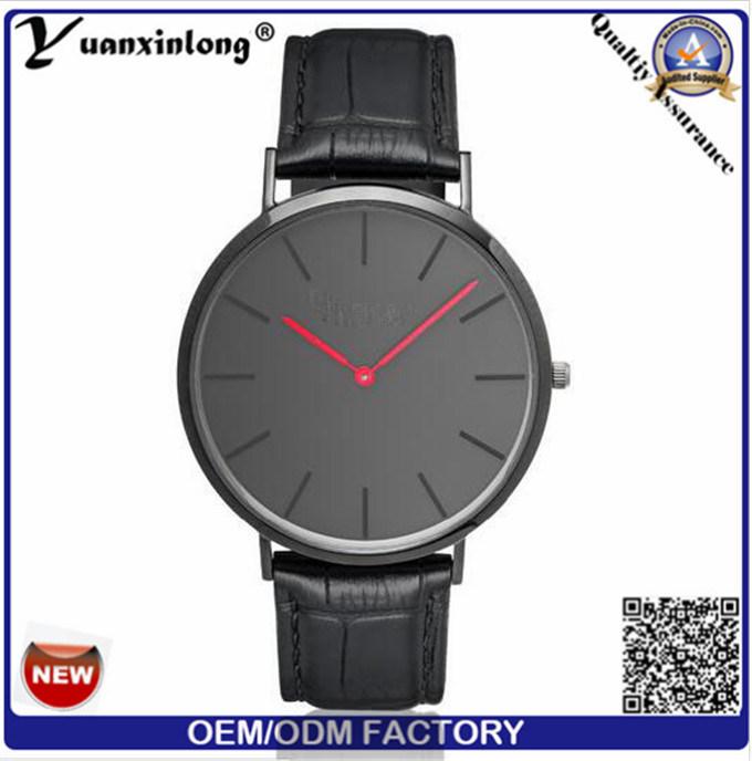 Yxl-796 Hot Promotion Rose Gold Case Men Wrist Watch in Diamond Stone Face