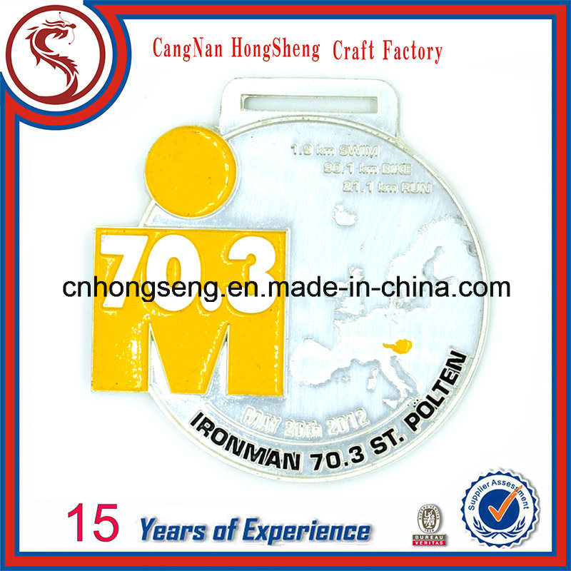 Newest Customized Souvenir Metals Medal with Ribbon
