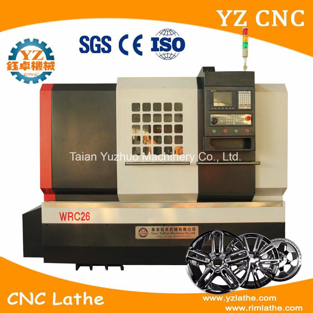 Wrc26 Alloy Wheel Repair CNC Lathe Machi...