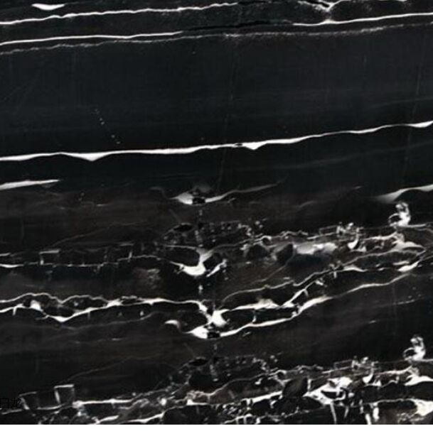 Silver Dragon White&Black Marble Countertop, Worktop, Tabletop