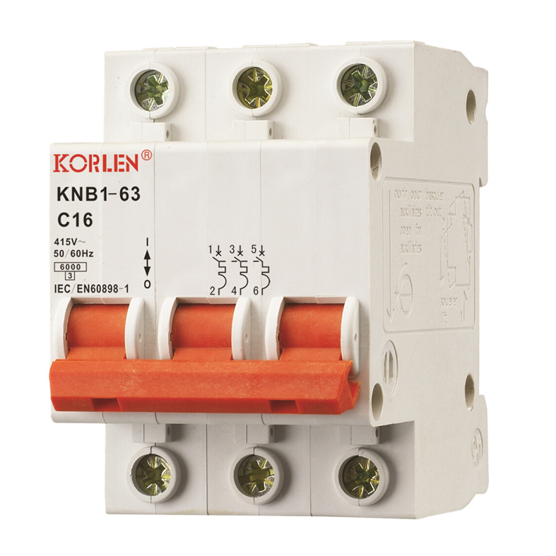 High Breaking Capacity Mini Circuit Breaker Knb1-63