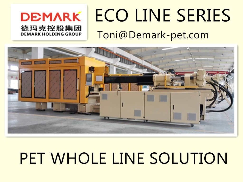 Demark High Speed Pet Preform Injection System Eco Line Cooling Robot 48cavities 30g