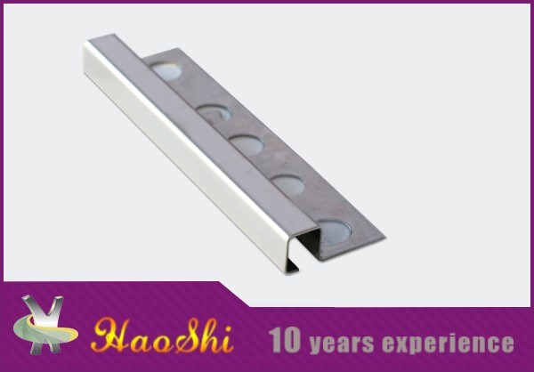 Good Price Stainless Steel Round Edge Ceramic Tile Trim (HSSS-09)