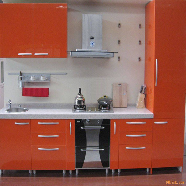 High Glossy Kitchen Cabinet (K-132)
