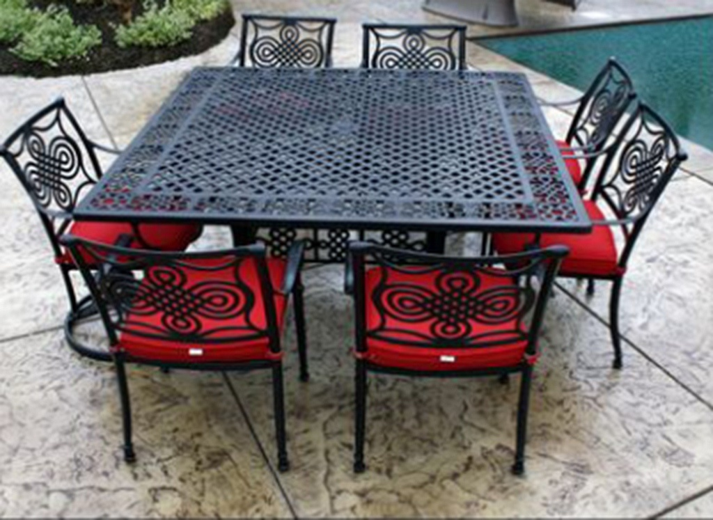 Hot Style Dynasty 9 PC Dining Set Outdoor Furniture