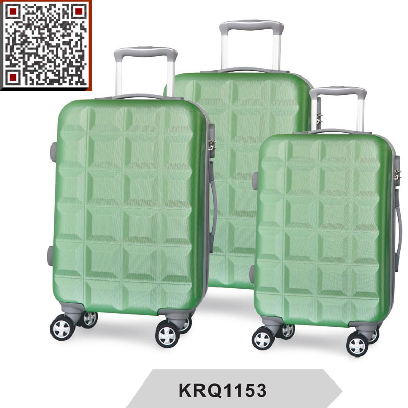 ABS Hard Shell Plastic Travel Trolley Luggage Suitcase
