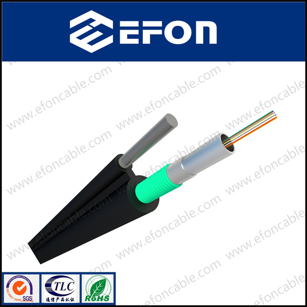 Aerial Self-Support 24/48core Fiber Optic Cable Price Per Meter (GYFTC8S)