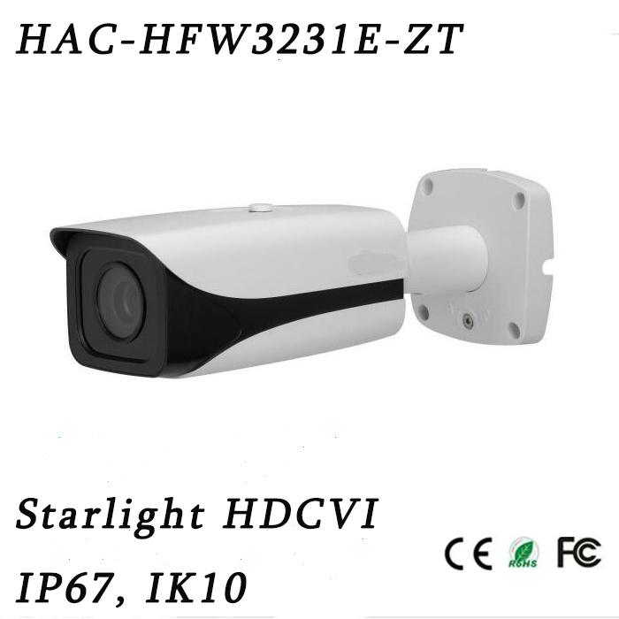 2megapixel Metal 1080P Starlight Hdcvi SD Tester out High Definition IR Bullet Camera{Hac-Hfw3231e-Zt}
