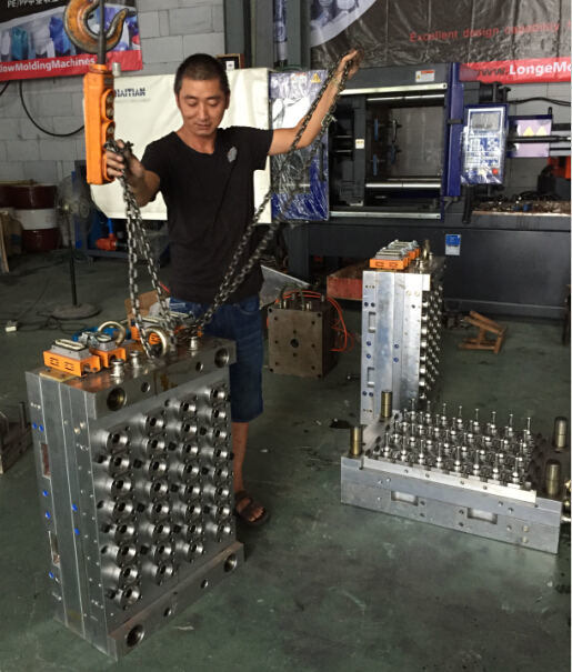 2016 New Design Hot Runner Plastic Pet Bottle Preform Mould