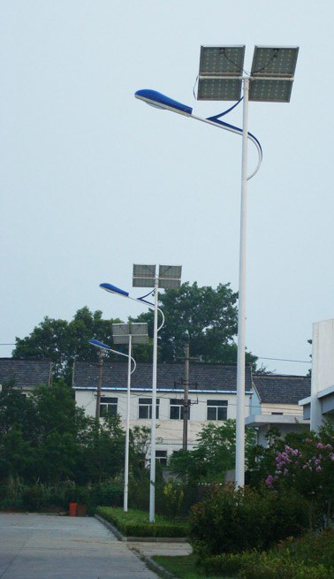 36W 60W 100W 150W 200W Outdoor IP65 Solar Powered LED Street Lamps for Road Path Garden Square Plaza