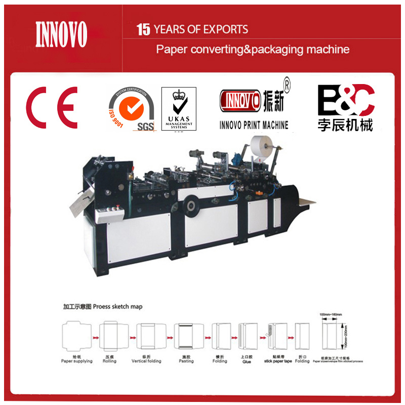 Automatic Wallet Style Envelop Making Machine (ZXXF-320)