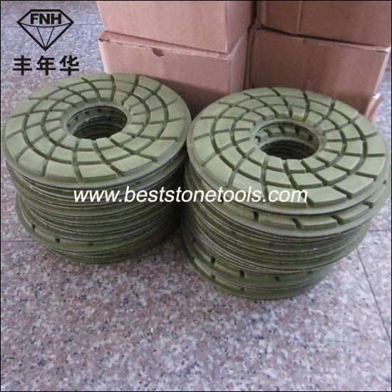 "Cr-24 Diamond Concrete Floor Polishing Pad (7""/180mm)"