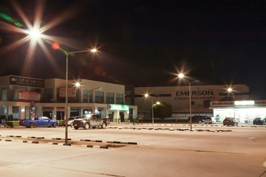100W UL RoHS CE LED Street Light for Parking (High Pole)