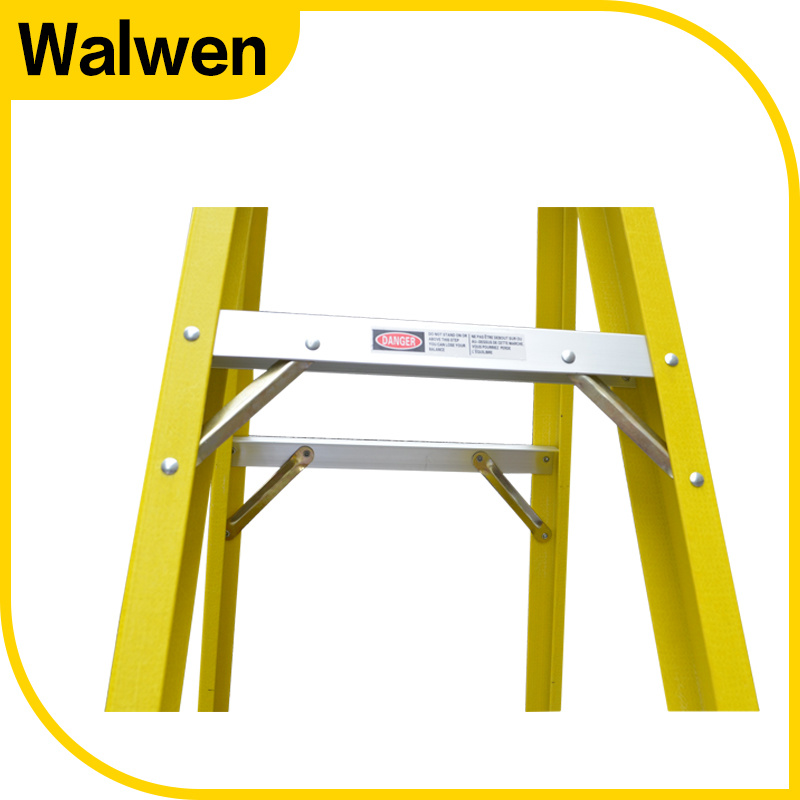 A Shape Double Side Folding Movable FRP Step Ladder