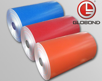 Aluminum Coil with Decorative Surface