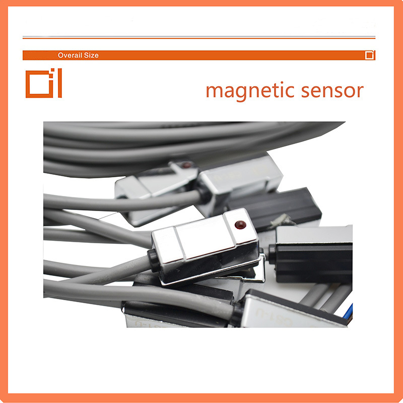 CS1-U Series Magnetic Sensor Reed Switch for Air Pneumatic Cylinder